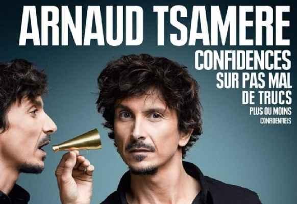 BAU Arnaud Tsamère agenda Mars 2016