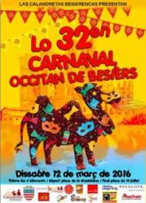 BAU agenda Carnaval Mars 2016