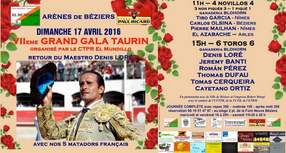 Béziers Avril 14